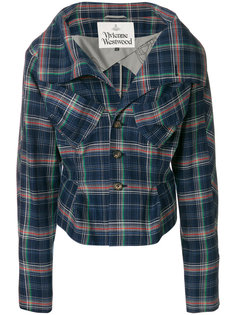 fitted check jacket  Vivienne Westwood