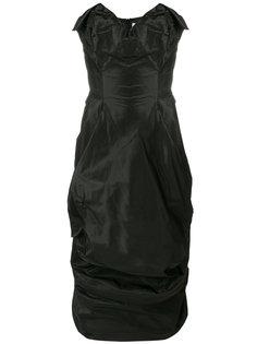 драпированное платье без лямок Vivienne Westwood