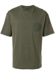футболка с нашивкой Emporio Armani