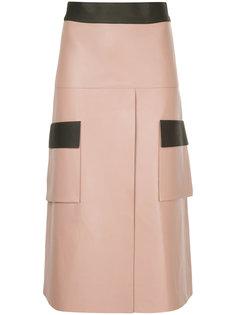 А-образная юбка карго  Dion Lee