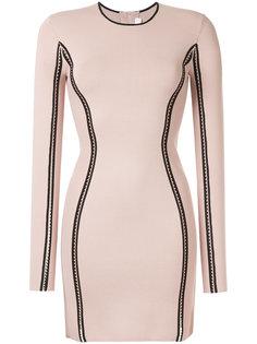 облегающее платье с длинными рукавами Dion Lee