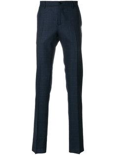 классические брюки в клетку Etro