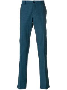 брюки-чинос с мелким узором Etro