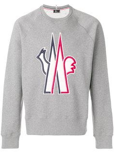 классический свитер с логотипом Moncler Grenoble