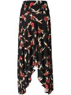 юбка с драпировками Wenda Isabel Marant