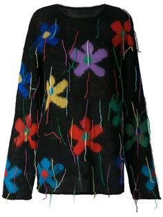 объемный свитер с цветочным рисунком Ports 1961