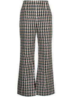 укороченные расклешенные брюки Marni