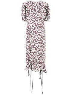 платье миди со сборками Marni