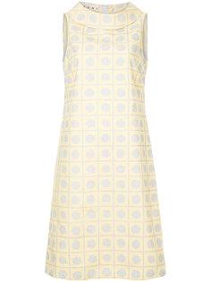 платье с воротником-хомутом Marni