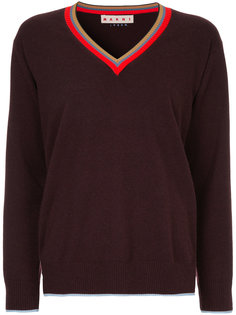свитер с отделкой Marni