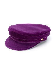 бархатная плоская кепка Manokhi