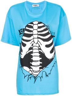 футболка с принтом грудной клетки Jeremy Scott