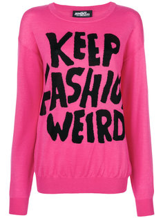 джемпер Keep Fashion Weird Jeremy Scott