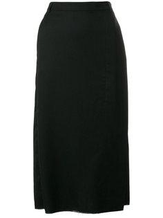 юбка с запахом и необработанными краями Ivan Grundahl