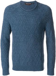 фактурный трикотажный свитер Michael Michael Kors