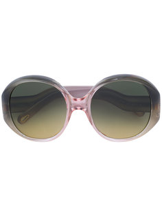 солнцезащитные очки в круглой оправе Chloé Eyewear