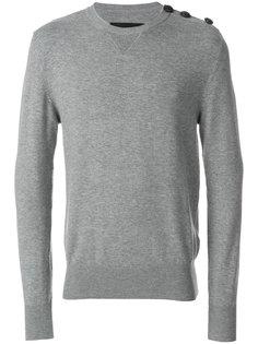 свитер с пуговицами на плече Hydrogen