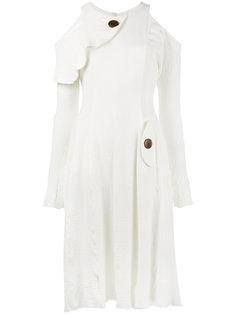 платье с открытыми плечами One World Kitx