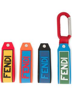 брелок с логотипом Fendi