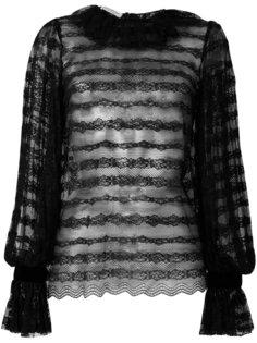 прозрачная кружевная блузка Philosophy Di Lorenzo Serafini