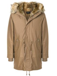 пальто с капюшоном на молнии Mackage