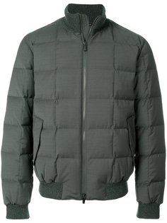 стеганая куртка на молнии Z Zegna
