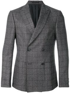 двубортный пиджак Z Zegna