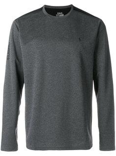 двухцветный свитер Polo Ralph Lauren