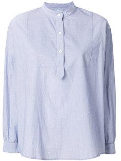 блузка с круглым вырезом на пуговицах A.P.C.