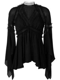 многослойное платье с V-образным вырезом Plein Sud