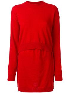 свитер с многослойным эффектом Mm6 Maison Margiela