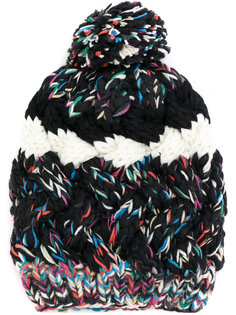 шапка крупной вязки с помпоном Missoni