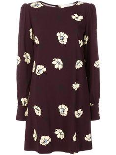 платье с цветочным принтом  Goat