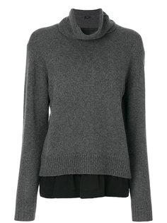 свитер с высокой горловиной Joseph