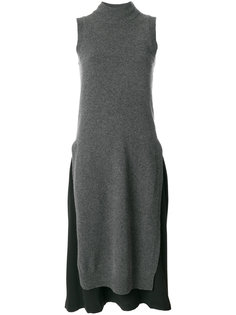 многослойное платье-свитер Joseph