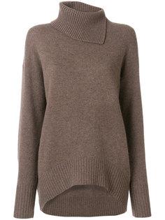 свитер с воротником с заворотом Joseph