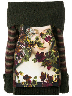 "свитер модели ""оверсайз"" с принтом Antonio Marras"
