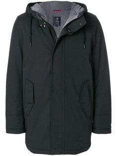 пальто на молнии с капюшоном Fay