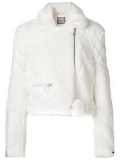 байкерская куртка из искусственного меха  Urbancode