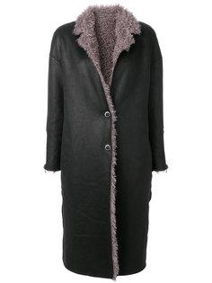 пальто с искусственной цигейкой  Urbancode