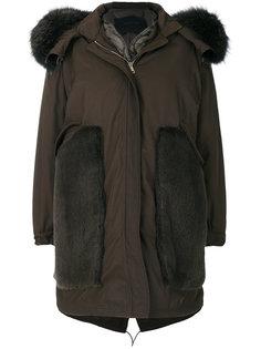 пальто-парка со съемной вставкой  Blancha