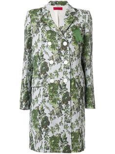 пальто с жаккардовым цветочным узором  The Gigi