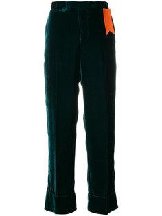 прямые брюки с ярлыком  The Gigi