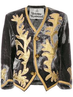 укороченный жакет с рисунком Vivienne Westwood