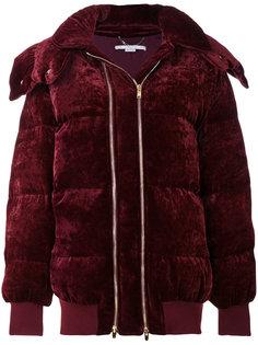 бархатная дутая куртка  Stella McCartney