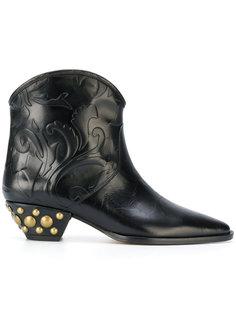 ботинки Dawina с заклепками Isabel Marant