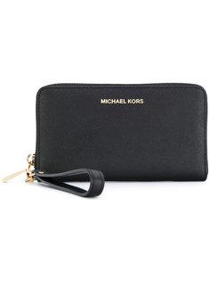 кошелек на молнии с ремешком на запястье Michael Michael Kors