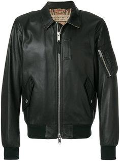 куртка с классическим воротником Burberry
