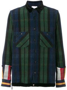 полосатая рубашка  Sacai