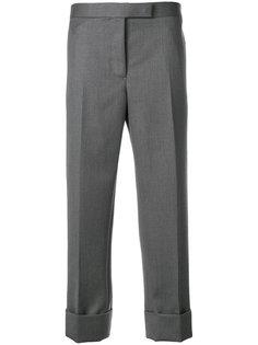 укороченные строгие брюки  Thom Browne